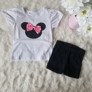 💗NEW💗Minnie Mouse Tee and Short